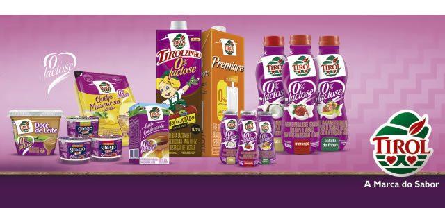 Produtos Tirol Zero Lactose