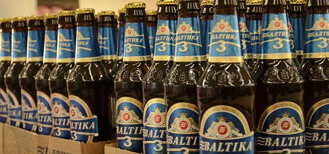 Cerveja Baltika, da Rússia para o Caitá