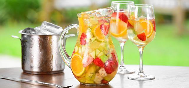 Drinks de morango