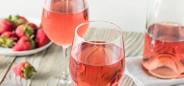 O queridinho Vinho Rosé