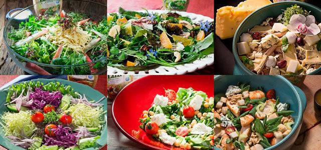 Seis molhos de salada, seis receitas deliciosas