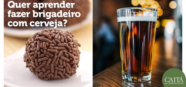 Brigadeiro com Cerveja