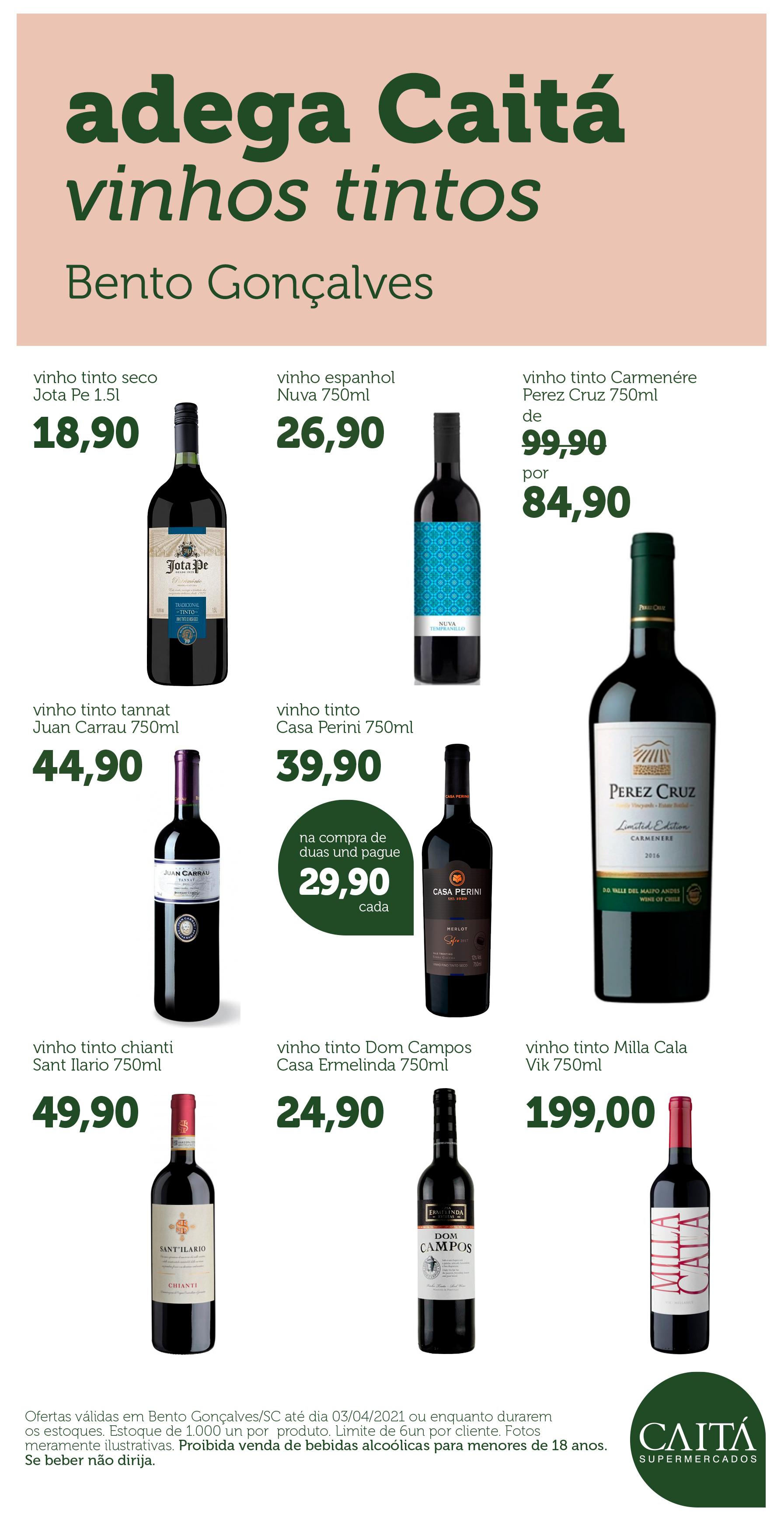 vinhos tintos_Bento