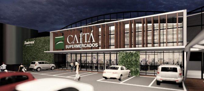 Supermercado Caitá terá loja no Boulevard em Garibaldi