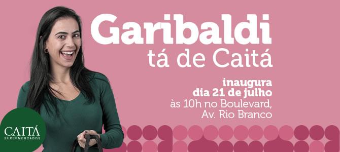 Caitá de Garibaldi vai inaugurar em 21 de julho
